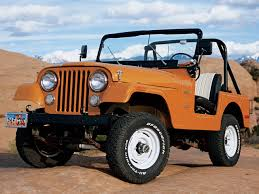 1972 to 1986 Jeep CJ