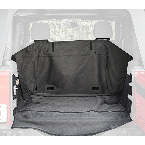 C3 Cargo Cover No Subwoofer 2007 To 2018 Jeep Wrangler JK 2 Door<br>Get FREE C3 tailgate Cover (13260.09) with JK C3 Cargo Cover