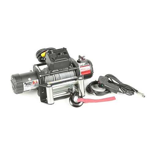 Rugged Ridge Nautic Winch 9500 LBS Cable Waterproof<br>Get FREE recovery kit (15104.25) with Nautic winch