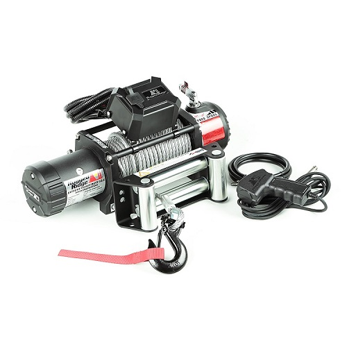 Rugged Ridge Nautic Winch 12500 LBS Cable Waterproof<br>Get FREE recovery kit (15104.25) with Nautic winch