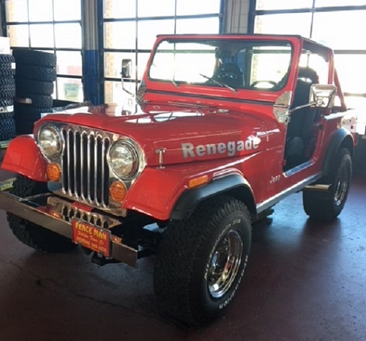 Classic Renegade Jeep