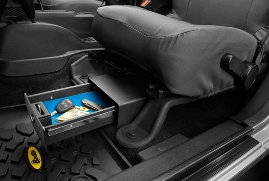 BesTop Underseat Storage Lockbox