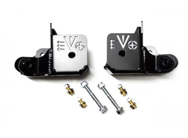 Jeep JK Rock Star Rear Skids 07-18 Wrangler JK EVO Manufacturing