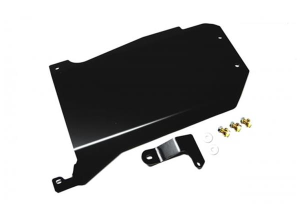 Jeep JK Transmission Skid Plate 12-18 Wrangler JK Auto Trans Black Powdercoat EVO Manufacturing
