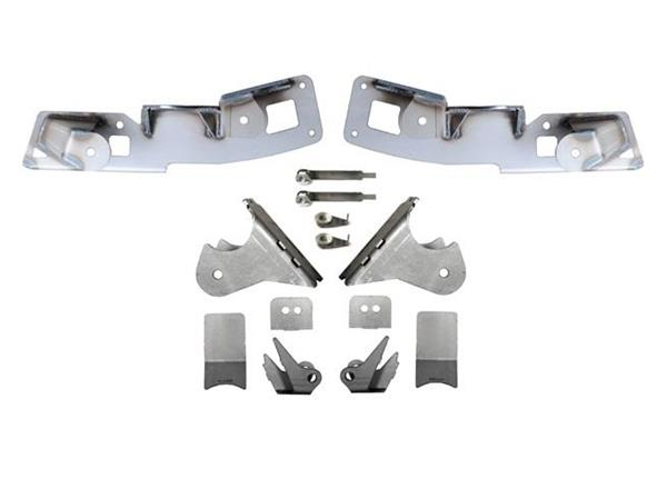 Jeep JK Rear High Clearance Long Arm Frame and Axle Bracket 07-18 Wrangler JK Set EVO Mfg