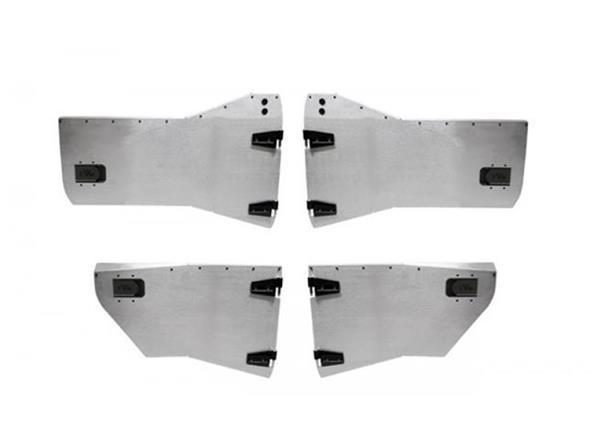 Jeep JK Half Door Front/Rear 07-18 Wrangler JK Unlimited Set EVO Manufacturing