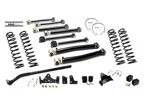 Jeep JK Enforcer Kit 3.0 Inch with Draglink Flip Stage 3 07-18 Wrangler JK EVO Manufacturing