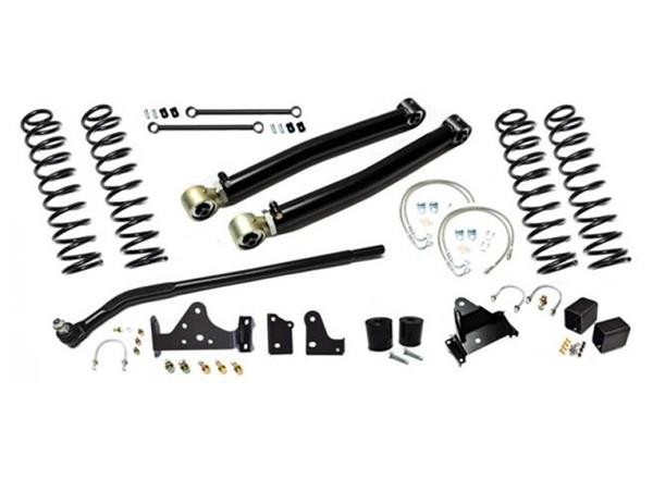 Jeep JK Enforcer Kit 4.0 Inch with Draglink Flip Stage 1 07-18 Wrangler JK EVO Manufacturing
