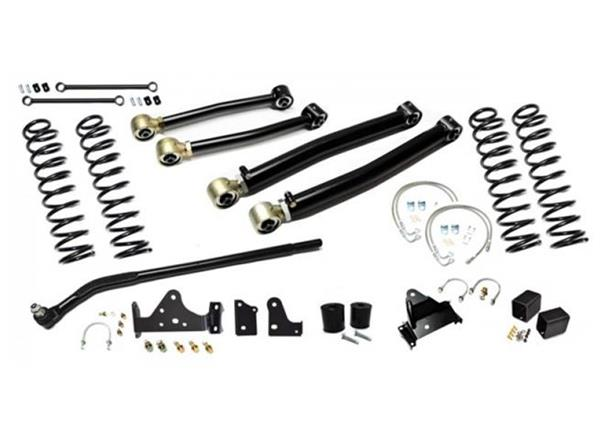 Jeep JK Enforcer Kit 4.0 Inch with Draglink Flip Stage 2 07-18 Wrangler JK EVO Manufacturing
