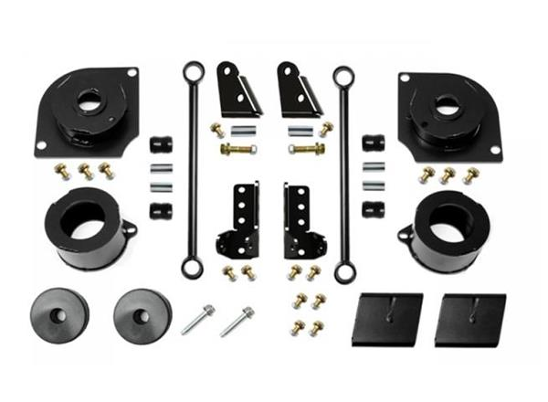 Jeep JL 2.5 Inch 18-Present Wrangler JL Boost Stage 1 with Shock Extensions EVO Manufacturing