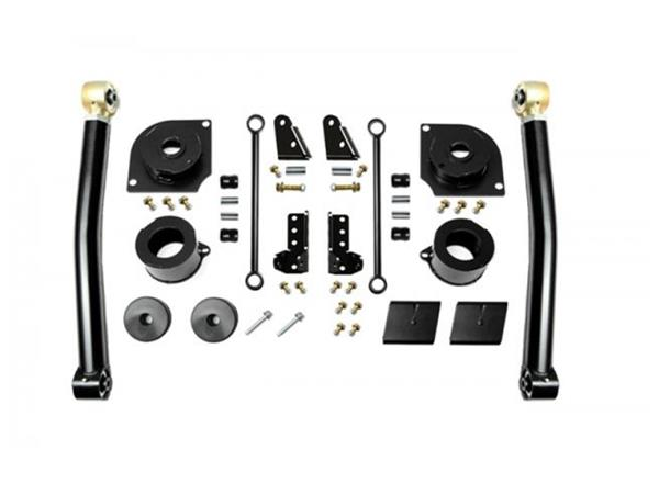 Jeep JL 2.5 Inch 18-Present Wrangler JL Boost Stage 2 with Shock Extensions EVO Manufacturing