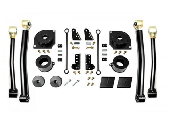Jeep JL 2.5 Inch 18-Present Wrangler JL Boost Stage 3 with Shock Extensions EVO Manufacturing