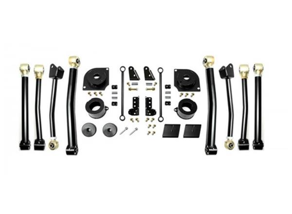 Jeep JL 2.5 Inch 18-Present Wrangler JL Boost Stage 4 with Shock Extensions EVO Manufacturing
