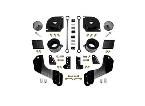 Jeep JL 2.5 Inch 18-Present Wrangler JL Overland Boost Stage 1 with Shock Extensions EVO Manufacturing