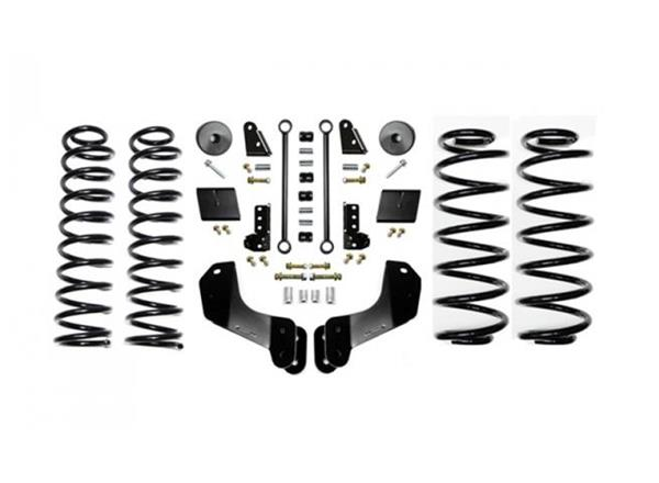 Jeep JL 2.5 Inch Enforcer Overland Lift Stage 1 with Shock Extensions 18-Present Wrangler JL Unlimited EVO Manufacturing