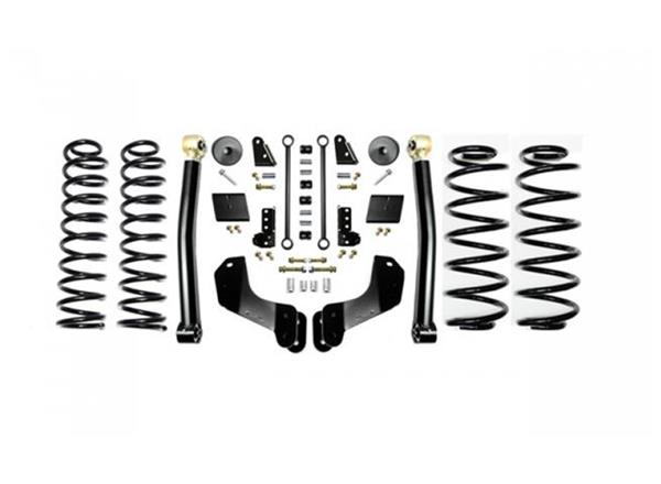 Jeep JL 2.5 Inch Enforcer Overland Lift Stage 2 with Shock Extensions 18-Present Wrangler JL Unlimited EVO Manufacturing