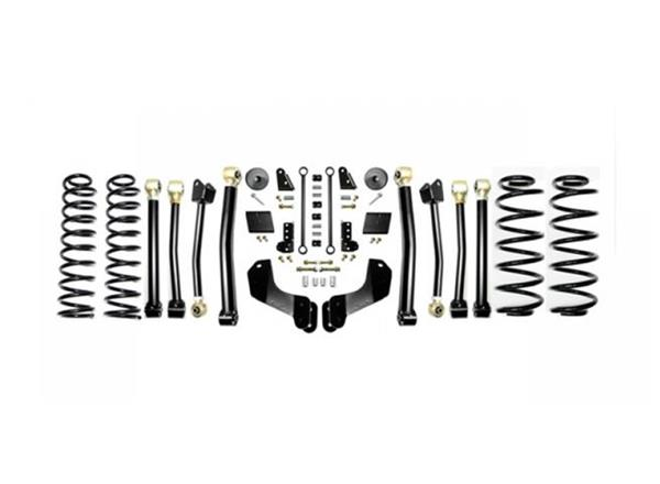 Jeep JL 2.5 Inch Enforcer Overland Lift Stage 4 with Shock Extensions 18-Present Wrangler JL Unlimited EVO Manufacturing