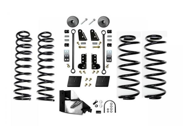 Jeep JL 3.5 Inch Enforcer Lift Stage 1 with Shock Extensions 18-Present Wrangler JL Unlimited EVO Manufacturing