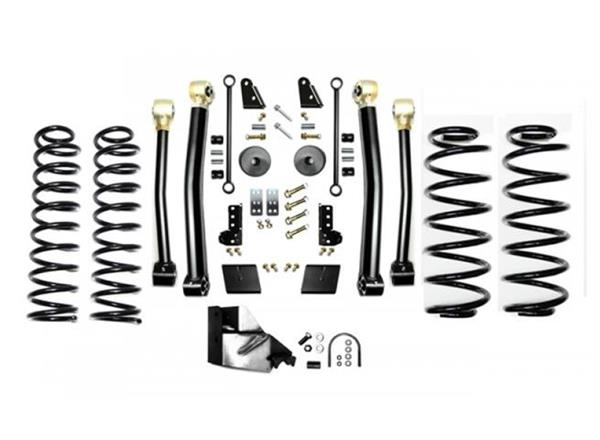 Jeep JL 3.5 Inch Enforcer Lift Stage 3 with Shock Extensions 18-Present Wrangler JL Unlimited EVO Manufacturing