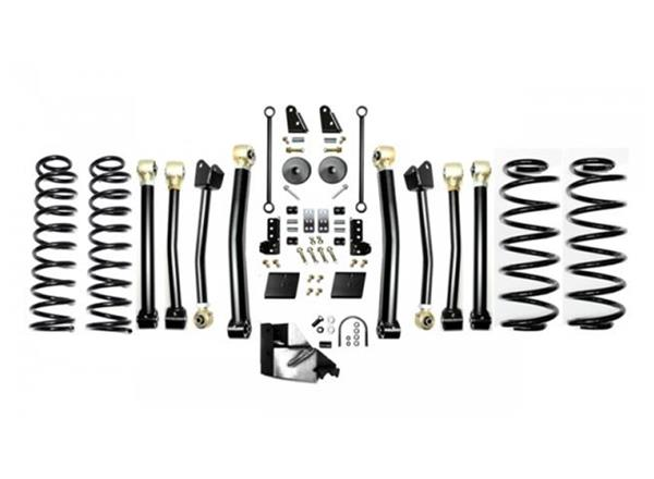 Jeep JL 3.5 Inch Enforcer Lift Stage 4 with Shock Extensions 18-Present Wrangler JL Unlimited EVO Manufacturing