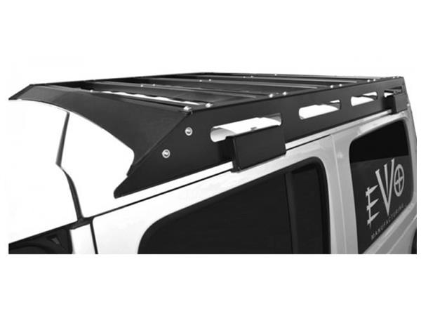 Jeep JL Unlimited Trail Roof Rack 18-Present Wrangler JL Unlimited Raw EVO Manufacturing