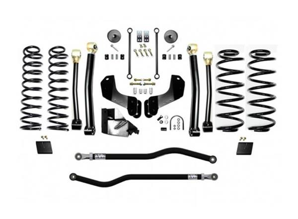Jeep JL 4.5 Inch Lift Kit 18-Pres Wrangler JL Enforcer Overland Lift Stage 3 Plus EVO Mfg