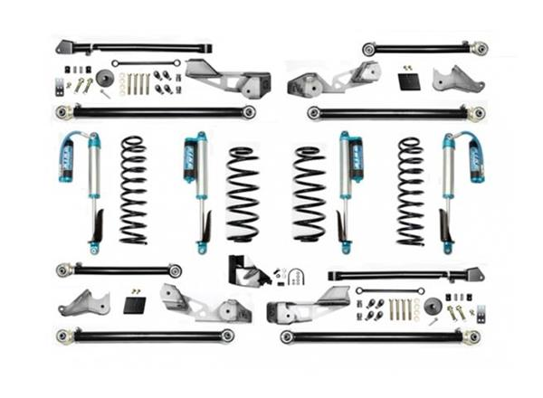 Jeep Wrangler JLU 4.5 Inch JLU High Clearance Long Arm with EVO SPEC King 2.5 Shocks EVO Mfg