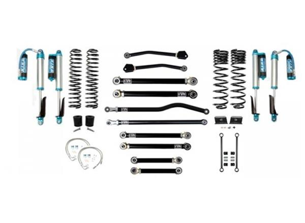 Jeep Gladiator JT 2.5 Inch Lift Kit 2020-Pres Gladiator Enforcer Lift Stage 4 Plus w/ EVO SPEC 2.5 King Shocks EVO Mfg