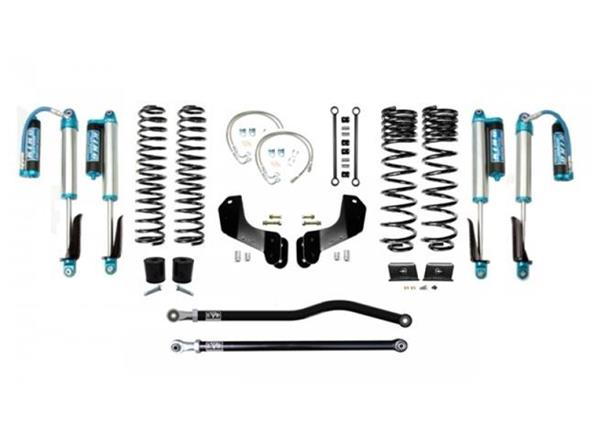 Jeep Gladiator JT 2.5 Inch Lift Kit 2020-Pres Gladiator Enforcer Overland Lift Stage 1 Plus w/ EVO SPEC 2.5 King Shocks EVO Mfg