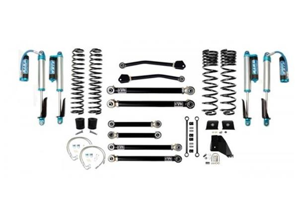 Jeep Gladiator JT 4.5 Inch Lift Kit 2020-Pres Gladiator Enforcer Lift Stage 4 w/ EVO SPEC 2.5 King Shocks EVO Mfg