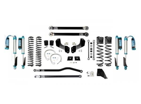 Jeep Gladiator JT 4.5 Inch Lift Kit 2020-Pres Gladiator Enforcer Overland Lift Stage 2 Plus w/ EVO SPEC 2.5 King Shocks EVO Mfg