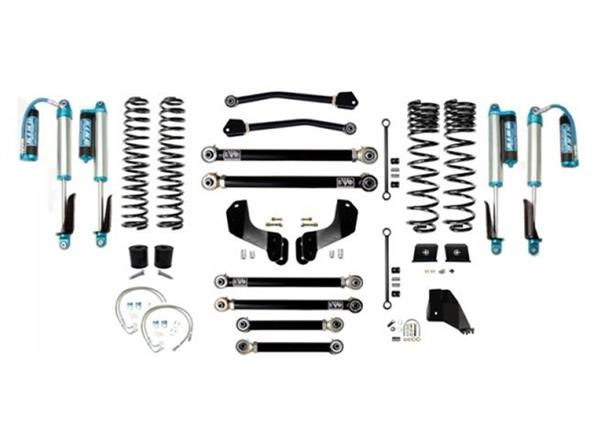 Jeep Gladiator JT 4.5 Inch Lift Kit 2020-Pres Gladiator Enforcer Overland Lift Stage 4 w/ EVO SPEC 2.5 King Shocks EVO Mfg
