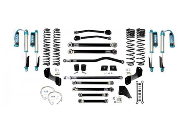 Jeep Gladiator JT 4.5 Inch Lift Kit 2020-Pres Gladiator Enforcer Overland Lift Stage 4 Plus w/ EVO SPEC 2.5 King Shocks EVO Mfg