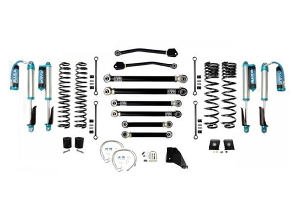 Jeep Gladiator JT 6.5 Inch Lift Kit 2020-Pres Gladiator Enforcer Lift Stage 4 w/ EVO SPEC 2.5 King Shocks EVO Mfg