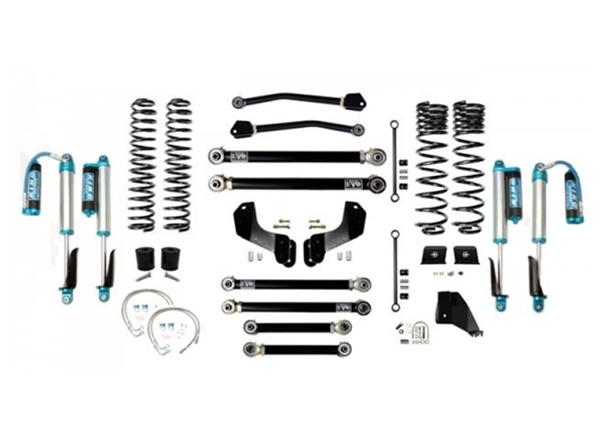 Jeep Gladiator JT 6.5 Inch Lift Kit 2020-Pres Gladiator Enforcer Overland Lift Stage 4 w/ EVO SPEC 2.5 King Shocks EVO Mfg