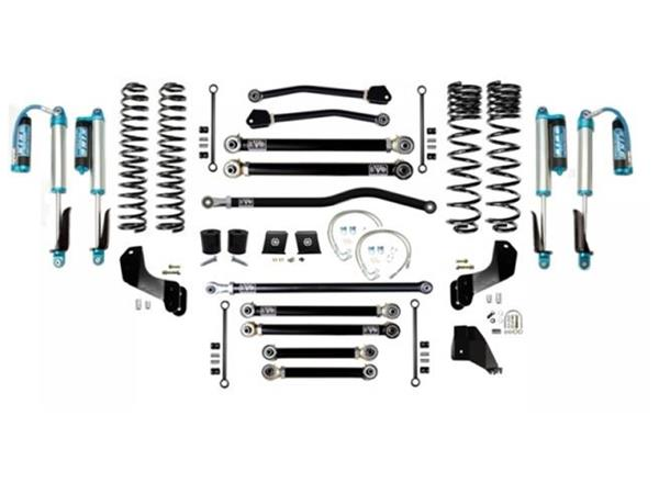 Jeep Gladiator JT 6.5 Inch Lift Kit 2020-Pres Gladiator Enforcer Overland Lift Stage 4 Plus w/ EVO SPEC 2.5 King Shocks EVO Mfg