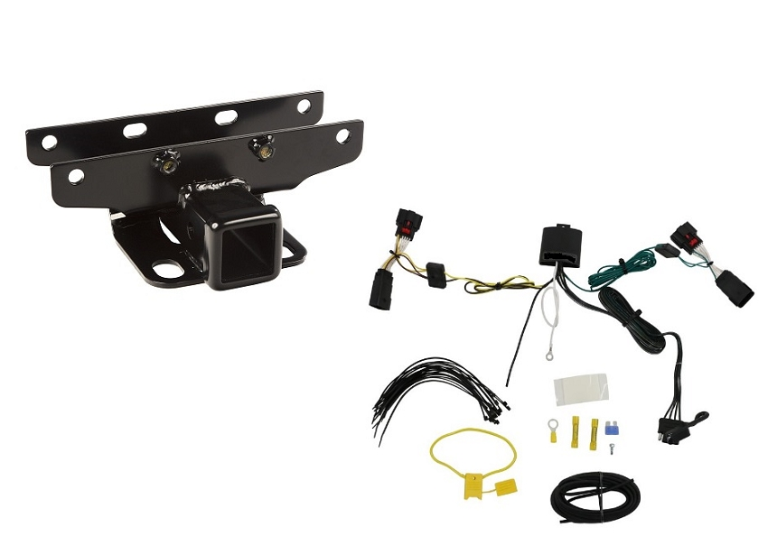 2018 Jeep Jl Wrangler 2 Inch Trailer Receiver Hitch Kit