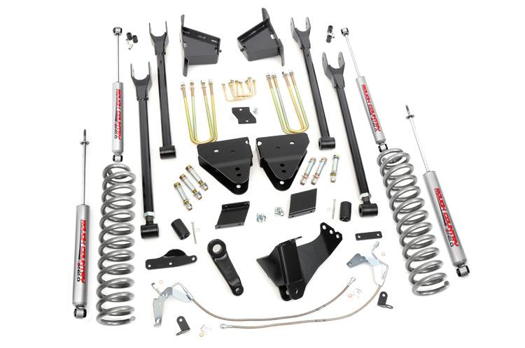 Suspension overload kits