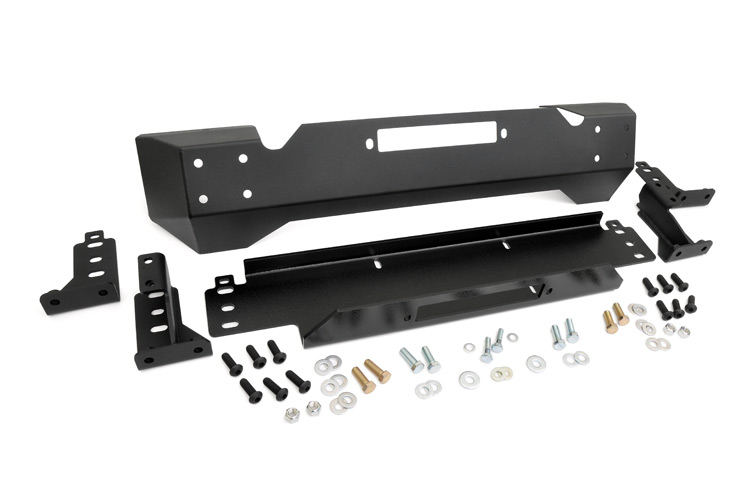 Front Stubby Winch Bumper<br>Fits: Jeep: 97-06 Wrangler TJ 4WD 04-06 Wrangler Unlimited LJ 4WD 87-95 Wrangler YJ 4WD