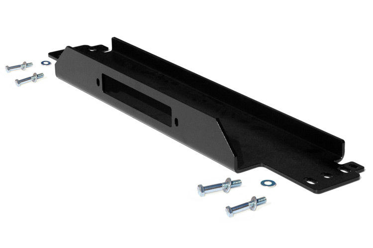 Winch Mounting Plate<br>Fits: Jeep: 97-06 Wrangler TJ 4WD 04-06 Wrangler Unlimited LJ 4WD 87-95 Wrangler YJ 4WD