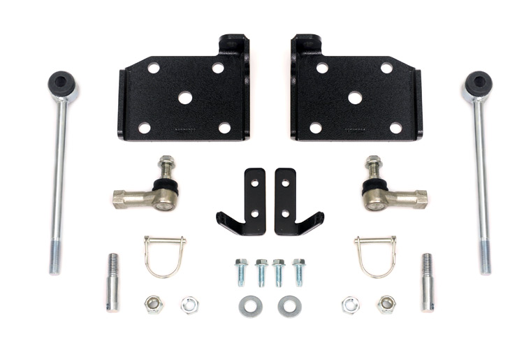 Front Sway Bar Quick Disconnects for 4-6-inch Lifts<br>Fits: Jeep: 87-95 Wrangler YJ 4WD