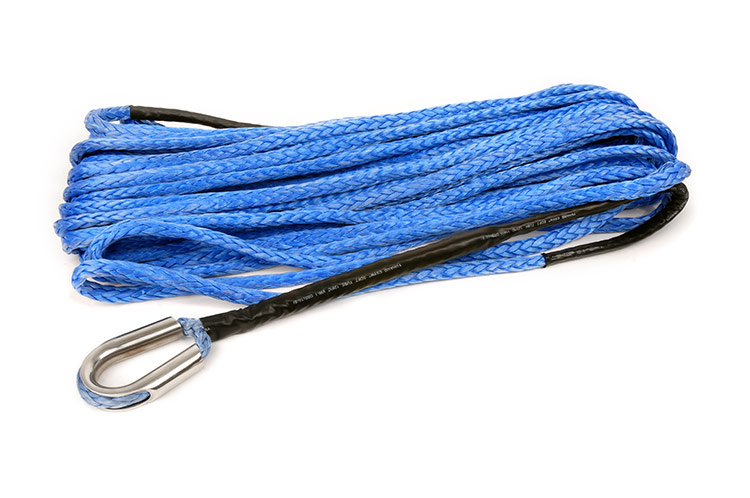 85-foot 3/8-inch Synthetic Rope<br>Fits: Any Winch that can accept Synthetic Rope as a Replacement for the Standard Steel Cable