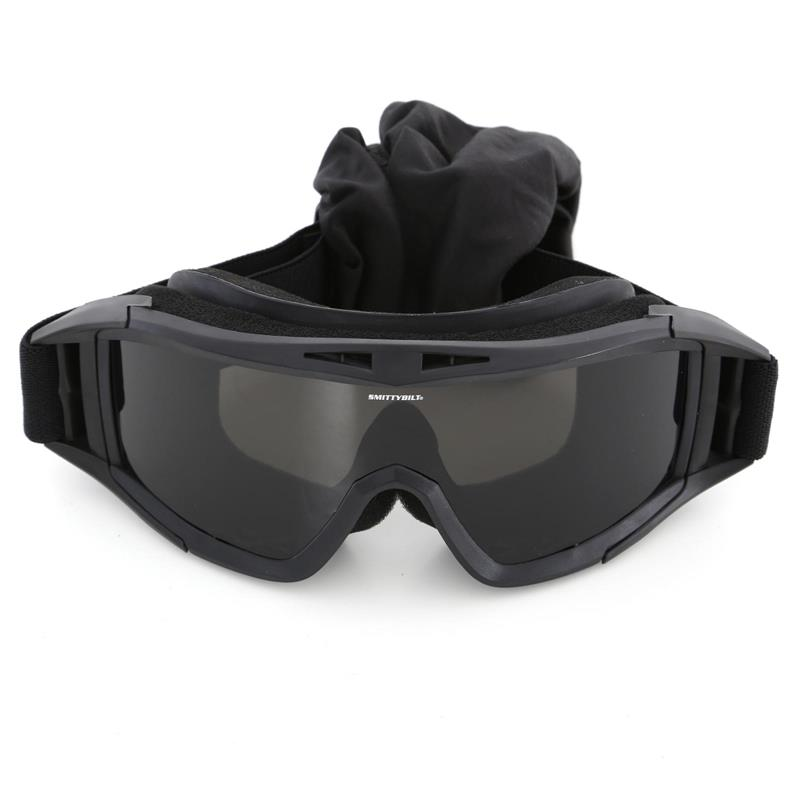 Protective Goggles With Bag Clear / Smoke / Amber Lens