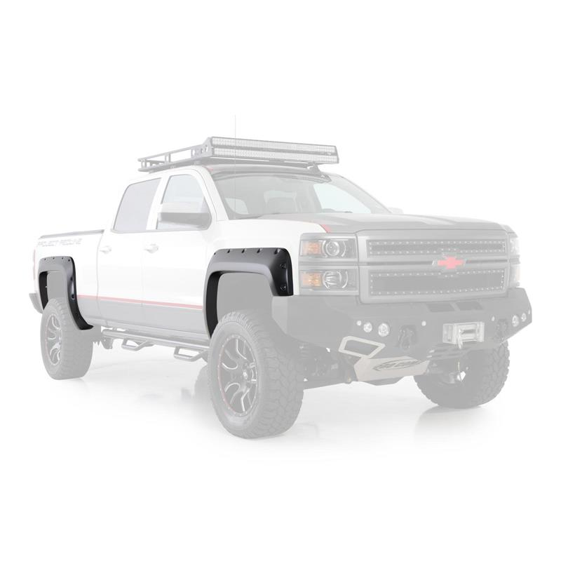M1 FENDER FLARES FOR 14-17 CHEVY 1500 5.8FT BED