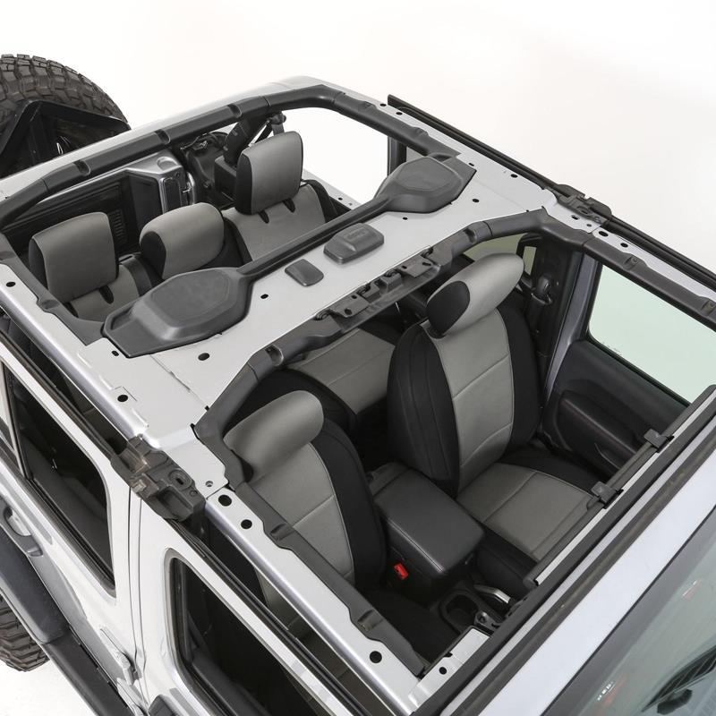 Smittybilt Neoprene Seat Cover Set Front/Rear - Char Gen 1