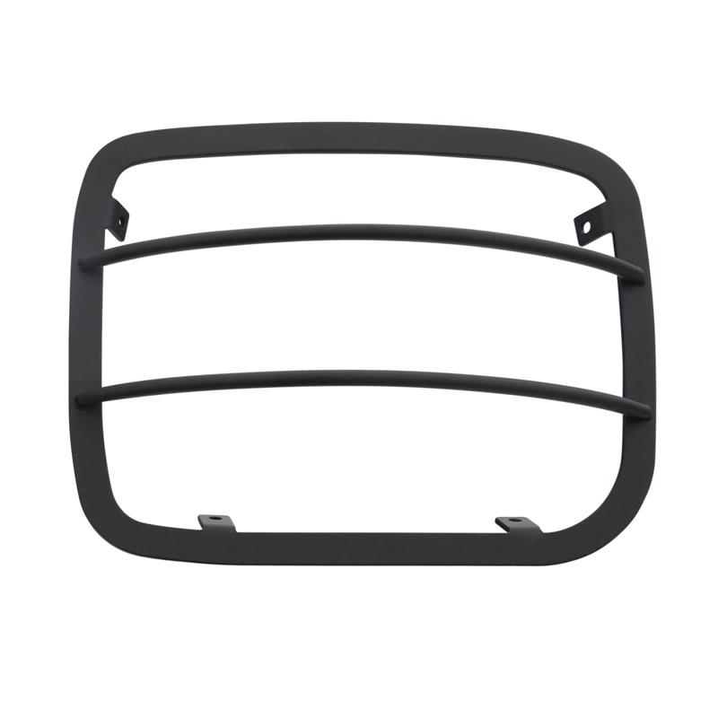 Euro Head Light Guards - Black - 4 Piece