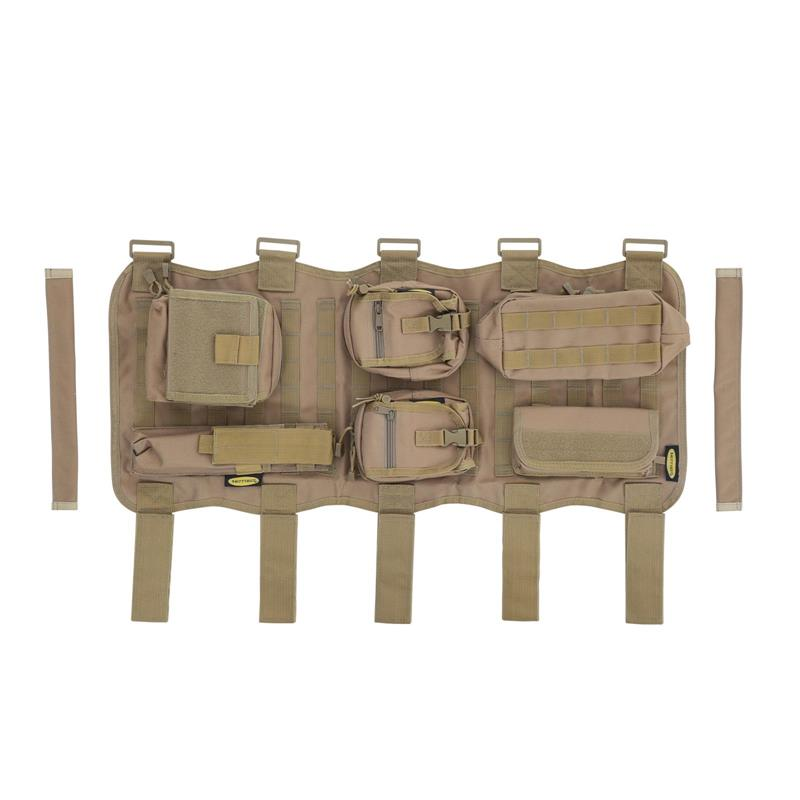 Gear Overhead Console - Coyote Tan