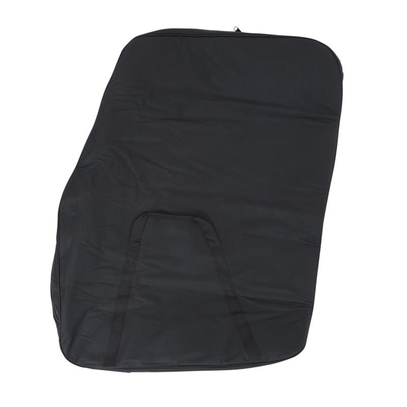 Storage Bag - Hard Doors - Pair - Black