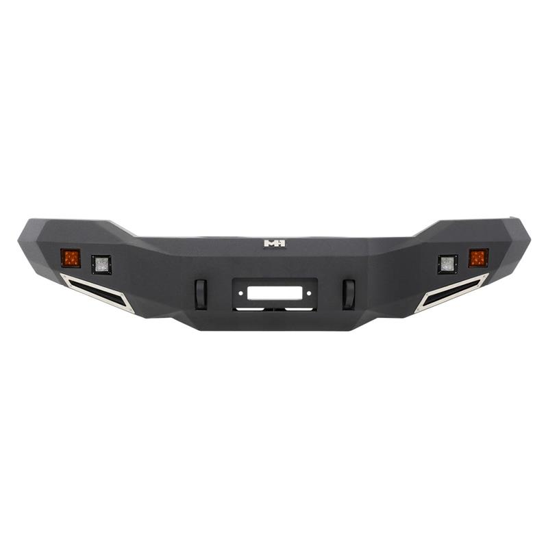 M1 Truck Bumper - Front - Includes a pair of S4 spot and flood lights