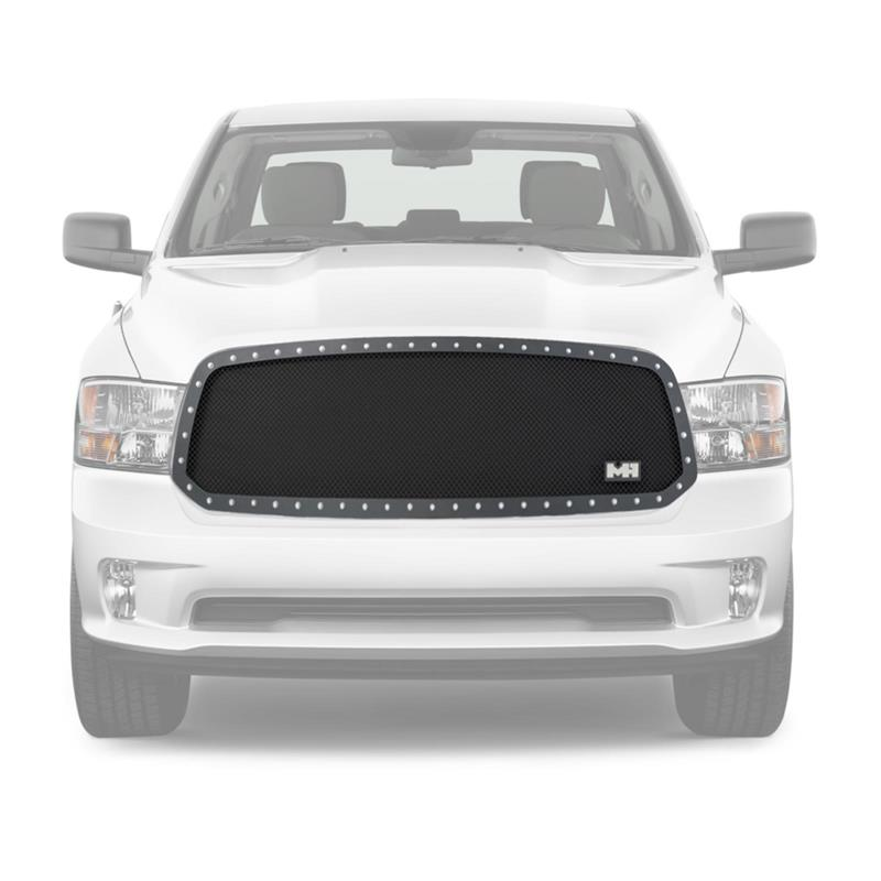 M1 S/S BLK Wire Mesh Grille